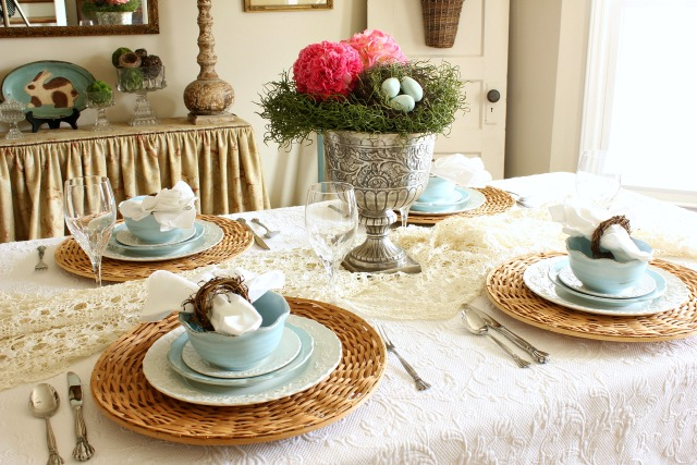 Setting a Spring Table