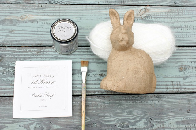 How to Decorate a Paper Mache Bunny