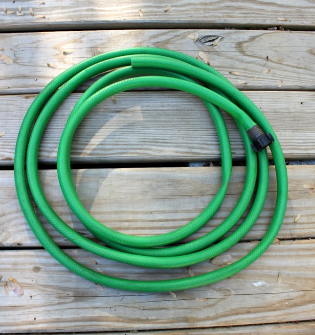 How to Make a Wreath out of a Garden Hose