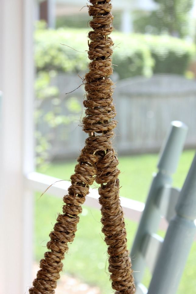 Rope Wrapped Chain