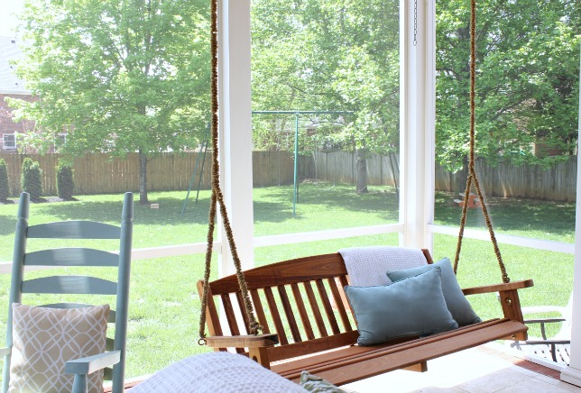 Hanging a Porch Swing