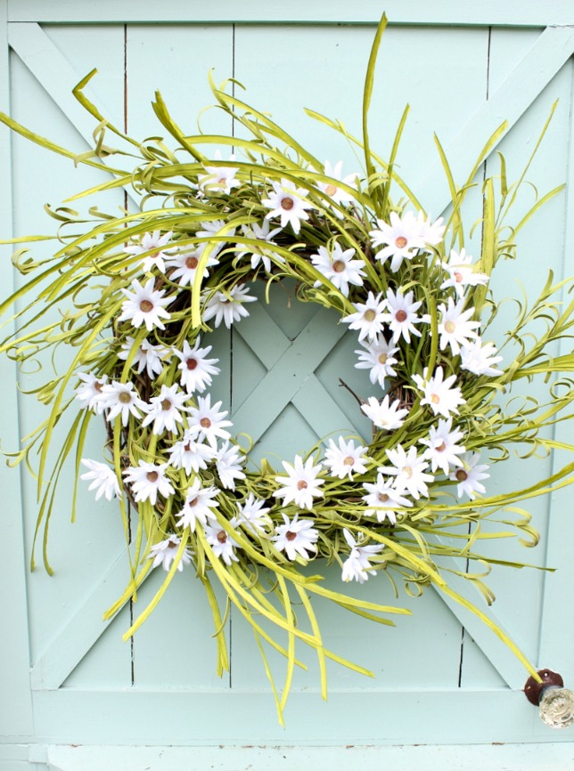 How to make a Daisy Wreath