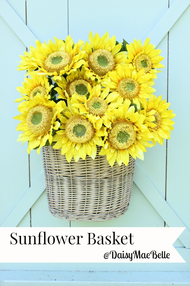 Sunflower Door Arrangement