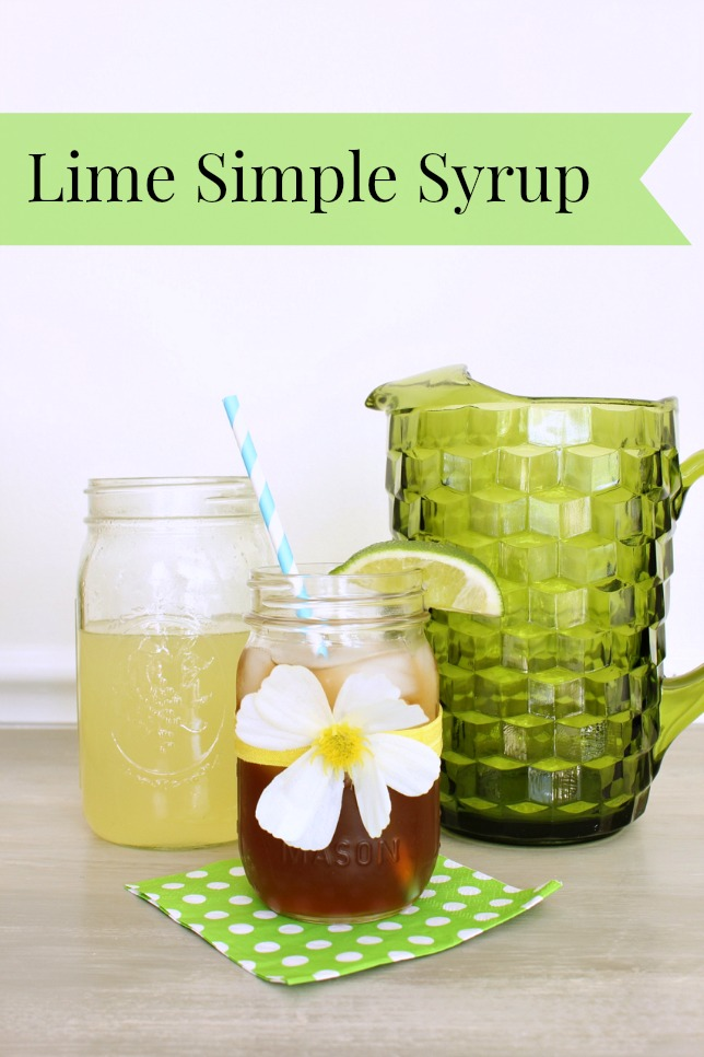 How to Make Simple Syrup with Lime