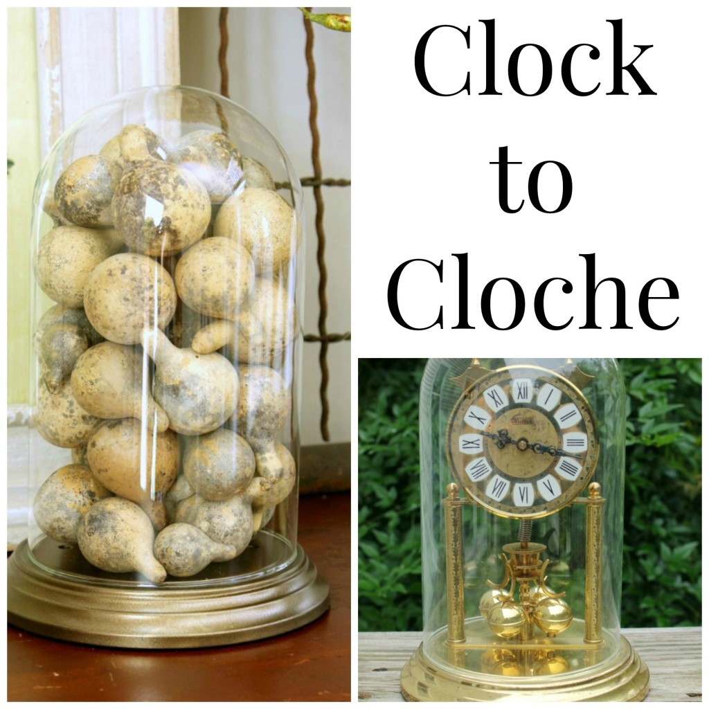 How to Make a Cloche from a Clock