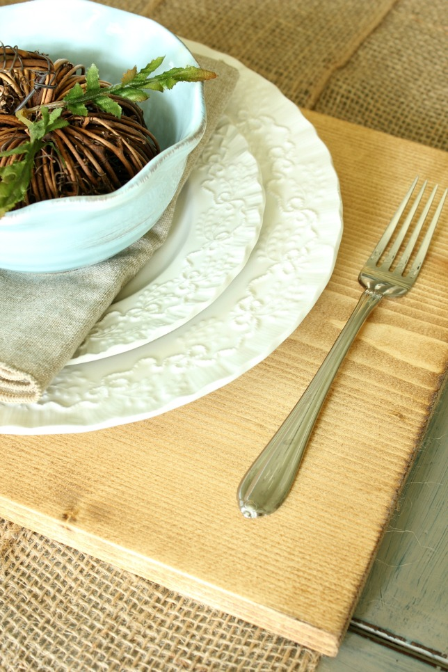 How to Make Wood Placemats