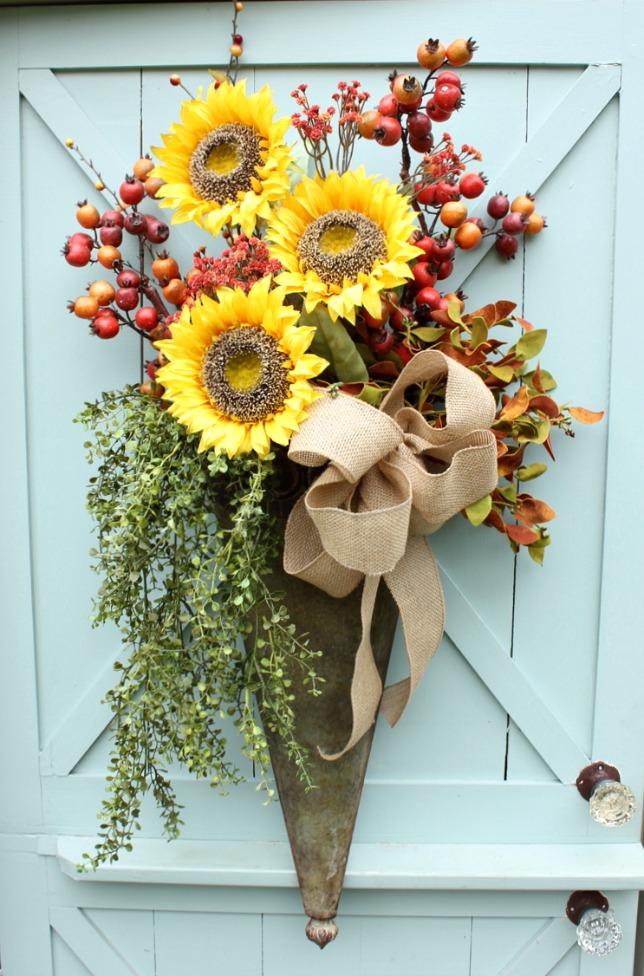 Fall Door Arrangement