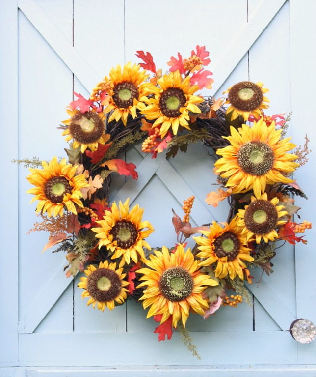 How to Make a Fall Wreath