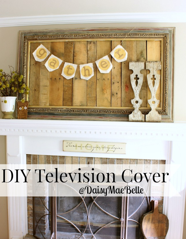 DIY Television Cover