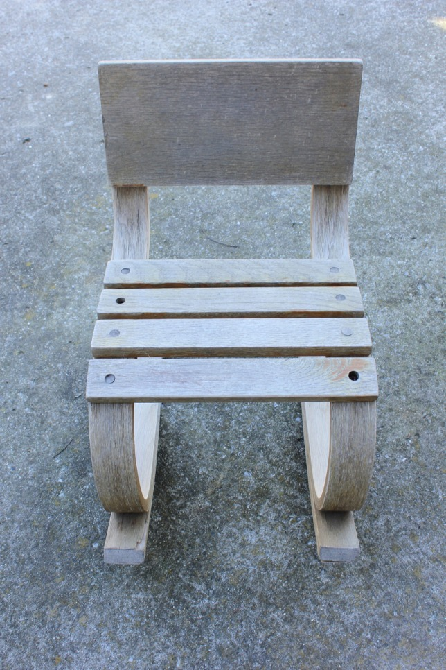 painted childs rocking chair01