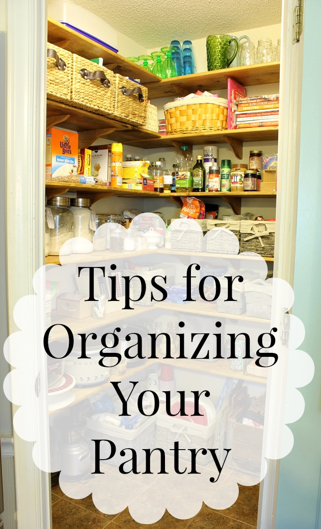 Tips For Organizing Your Pantry Daisymaebelle