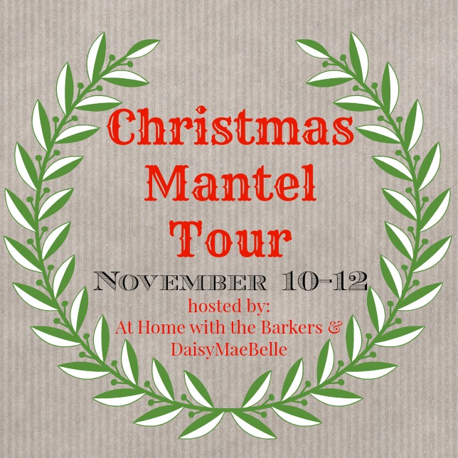 Christmas Mantel Tour