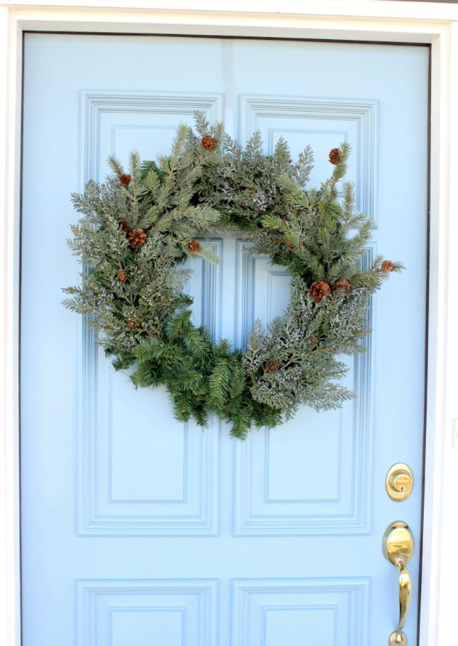 How to Make a Wreath with Greenery