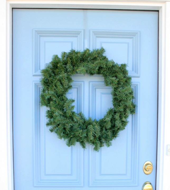 Plain Christmas Wreath