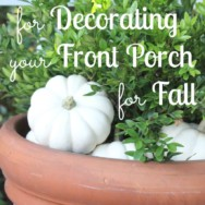 5 Tips for Decorating a Front Porch for Fall