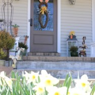 Easter Front Porch