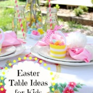 Easter Table Ideas for Kids