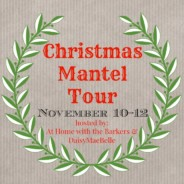 Christmas Mantel Tour – Day 2