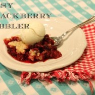 How to Make an Easy Blackberry Cobbler