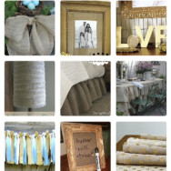 20 Burlap DIY Home Projects