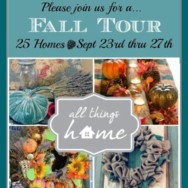Let the Fall Home Tours Begin!