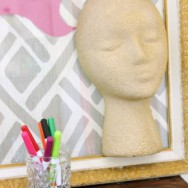 Styrofoam Head Crafts