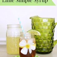 Lime Simple Syrup