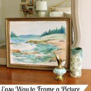 Easy Way to Frame a Picture