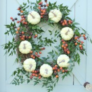 Southern Living Inspired Fall Wreath