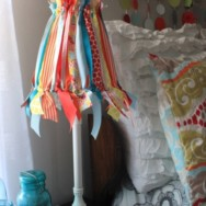 DIY Ribbon Lampshade